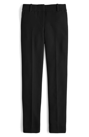 J.Crew Cameron Four Season Crop Pants Black