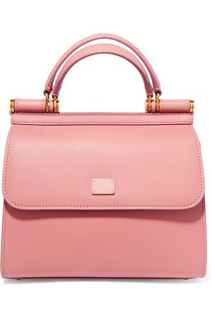 Dolce & Gabbana | Sicily 58 small leather tote | NET-A-PORTER.COM