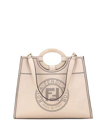 Fendi Runaway Calf Liberty Tote Bag | Neiman Marcus