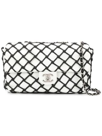 Chanel Pre-Owned mesh effect shoulder bag $6,333 - Buy Online VINTAGE - Quick Shipping, Price