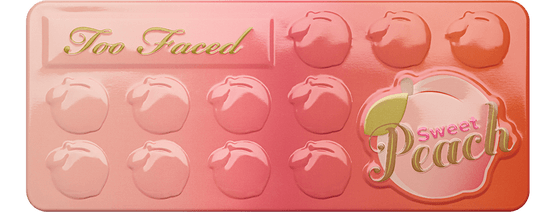 Too faced peach pallette