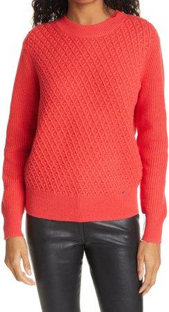 Stitch Detail Crewneck Sweater