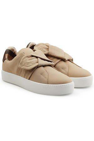 Sneakers with Knotted Front Gr. IT 40