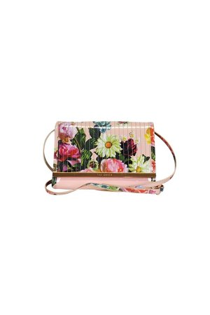 Ted Baker- Pink Floral Crossbody | Current Boutique