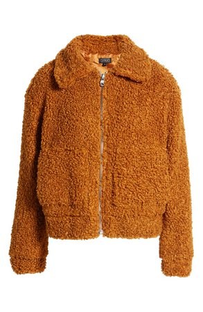 Lira Clothing Faux Shearling Teddy Jacket