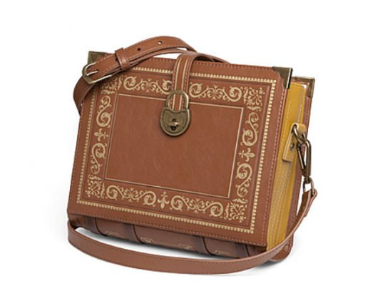 Olde Book – backpacks, purses, and messenger bags that look like vintage books