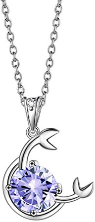 Amazon.com: beautlace Cancer Necklace Silver Horoscope Zodiac Sign 12 Constellation Astrology Pendant July Birthstone Necklace Jewelry Gift for Women and Girls KP0175X-R: Jewelry