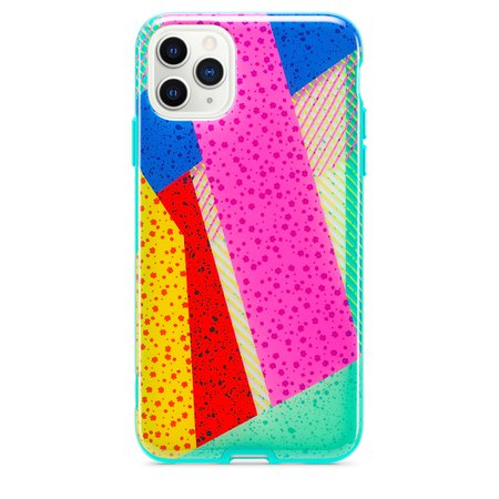 Tech21 Playful Medley Case for iPhone 11 Pro Max - Green - Apple