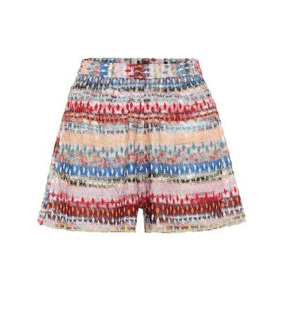 Missoni Mare - High-rise knit shorts   Mytheresa