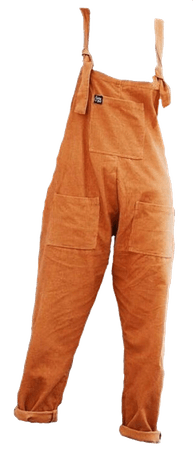 orange overalls