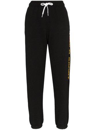 Polo Ralph Lauren logo-print track pants black 211806442002 - Farfetch