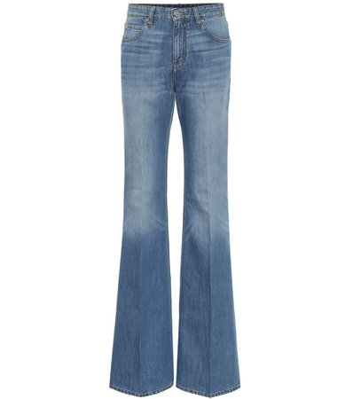 Victoria Victoria Beckham - High-rise flared jeans | Mytheresa