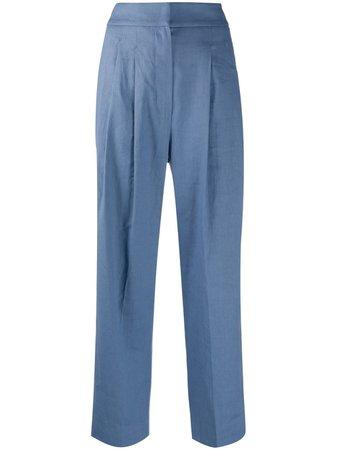Brunello Cucinelli wide-leg Tailored Trousers - Farfetch
