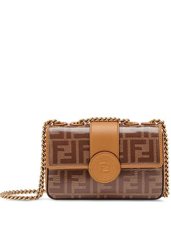 Fendi Mini Double F Shoulder Bag
