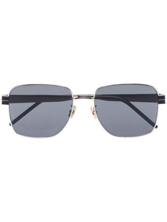 Saint Laurent Eyewear square-frame Tinted Sunglasses - Farfetch