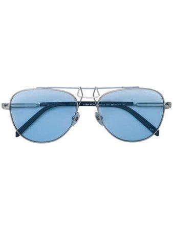 Calvin Klein 205W39nyc aviator sunglasses - Farfetch