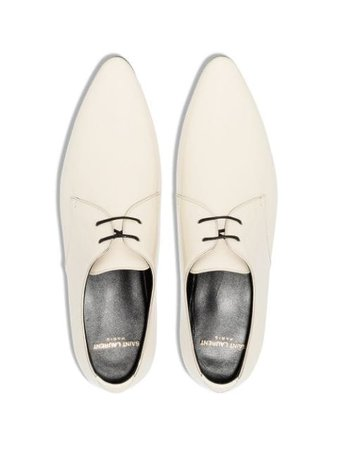 Saint Laurent Jonas Patent Derbies - Farfetch
