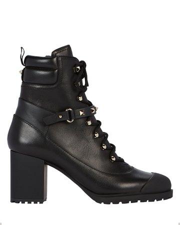 Rockstud Combat Boots