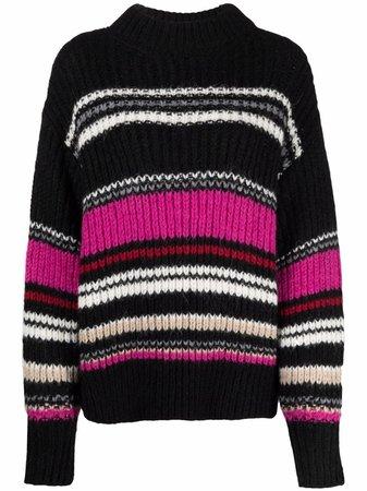 IRO striped knitted jumper - FARFETCH
