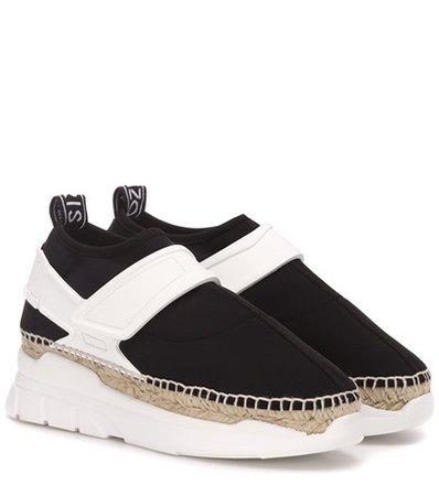 K-lastic espadrille sneakers