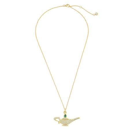 Genie Lamp Pavé Necklace by CRISLU - Aladdin | shopDisney