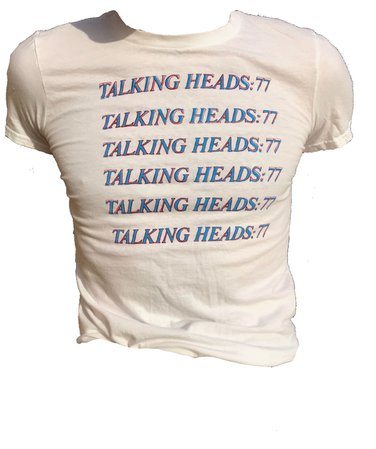 talking heads tee