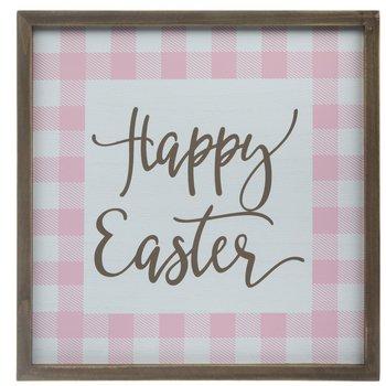 Happy Easter Buffalo Check Wood Wall Decor | Hobby Lobby | 105263512