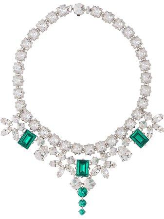 Miu Miu, crystal-embellished Necklace