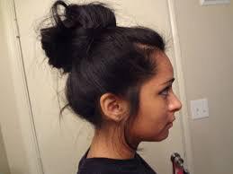black women with sloppy bun hair - Google Search
