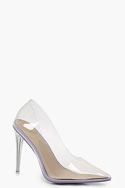 Jessica Clear Court Heels