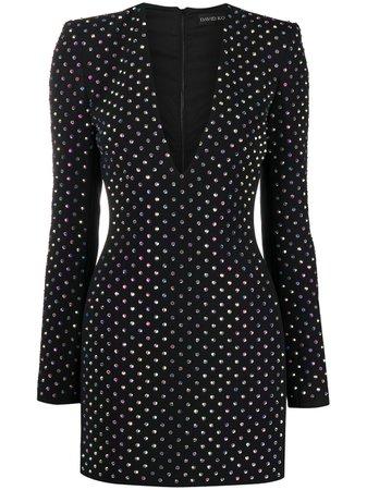 David Koma crystal-embellished Dress - Farfetch