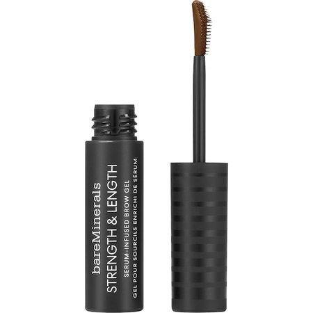 Strength & Length Serum-Infused Tinted Brow Gel - bareMinerals | Sephora