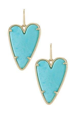 Kendra Scott Ansley Drop Earring in Light Blue   REVOLVE