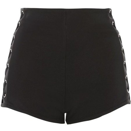 Topshop Lace Side Knicker Shorts