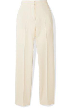 Burberry | Stretch-wool crepe straight-leg pants | NET-A-PORTER.COM