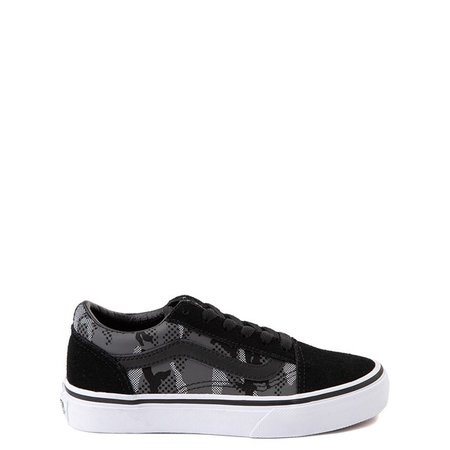 Vans Old Skool Skate Shoe - Little Kid - Black / Gray Camo | Journeys Kidz