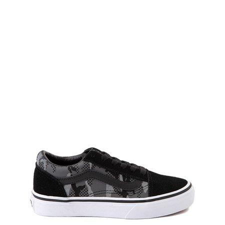 Vans Old Skool Skate Shoe - Little Kid - Black / Gray Camo | Journeys Kidz