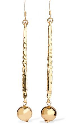 Gold-tone earrings | KENNETH JAY LANE | Sale up to 70% off | THE OUTNET