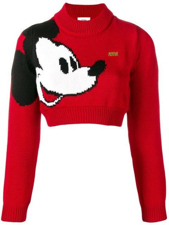 Gcds GCDS X Disney Mickey Mouse Knit Sweater - Farfetch