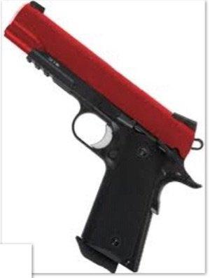 Red and Black Gun