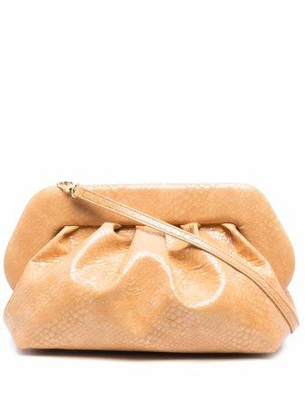 Themoirè Bios snakeskin-effect shoulder bag - FARFETCH