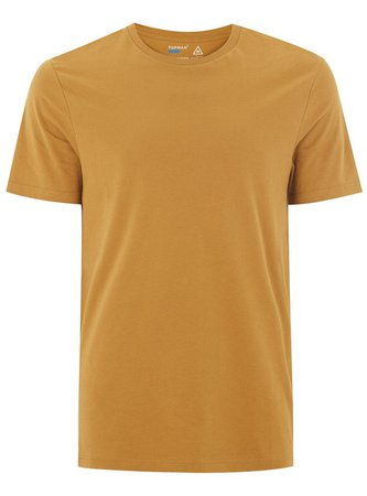 Mustard Slim T-Shirt