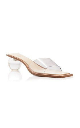 Tao PVC and Leather Sandals by Cult Gaia | Moda Operandi