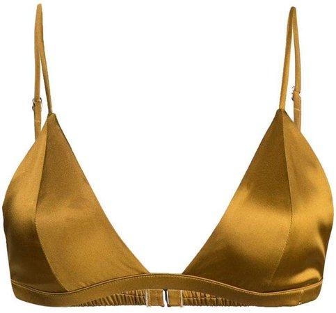 Luxe Triangle bikini top