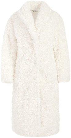 Teddy Notch Collar Coat