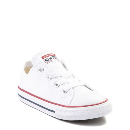 Converse Chuck Taylor All Star Lo Sneaker - Baby / Toddler - White | Journeys