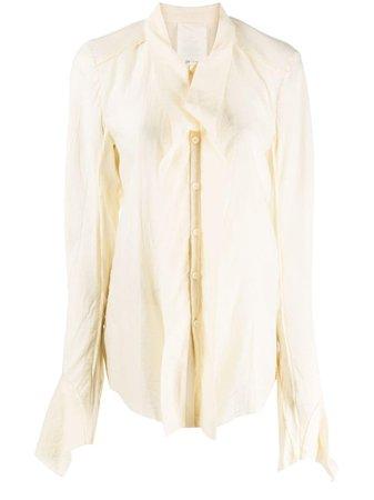PHAEDO STUDIOS Ruffled Long Sleeve Blouse - Farfetch