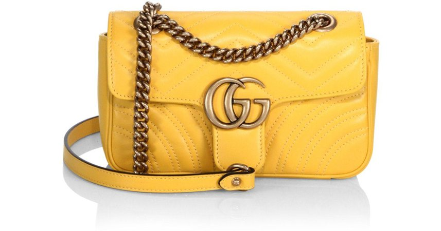 Yellow Gucci Bag