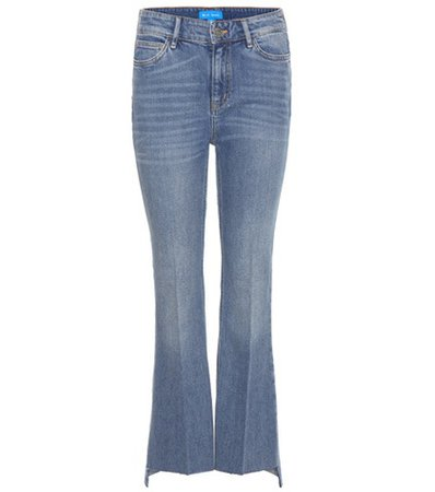 The Stevie cropped flared jeans
