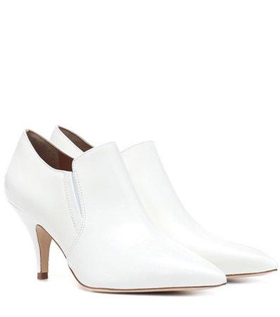Georgina 80 leather ankle boots